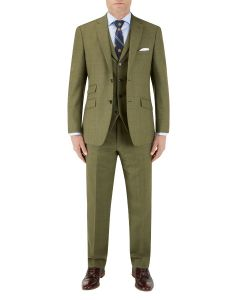 Moonen Suit Olive Check