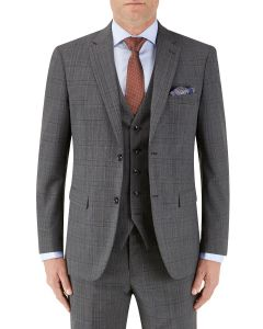 Caravaggio Suit Jacket Grey Check