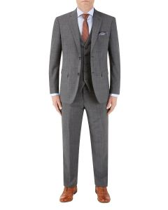 Caravaggio Suit Grey Check