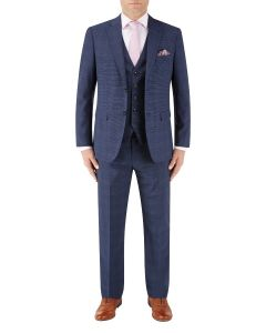 Torrente Suit Navy Check