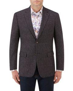 Ellis Textured Jacket Wine