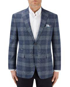 Kutcher Jacket Blue Check