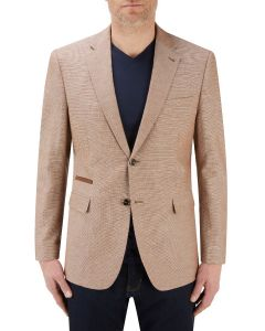 Dengel Cotton / Linen Blend Jacket Stone
