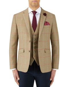 Wishart Jacket Sage Check