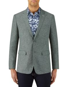 Lagasse Linen Blend Jacket Fern