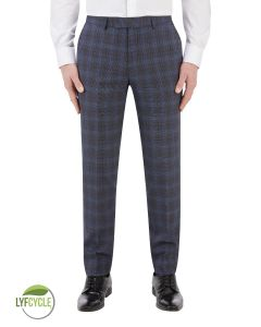 Suddard Suit Trouser Charcoal Check