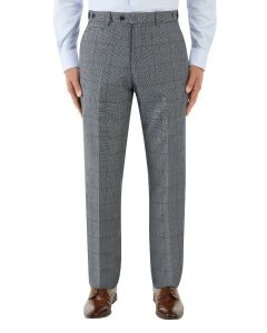 Tudhope Suit Tailored Trouser Blue Check