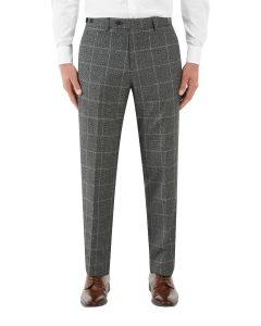 Tudhope Suit Tapered Trouser Charcoal Check