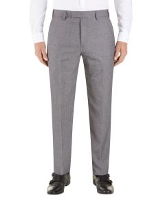 Harcourt Slim Suit Trousers Silver
