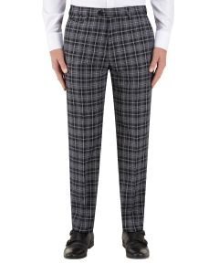 Kiefer Suit Tapered Trouser Black / Grey Check