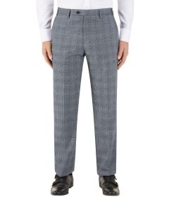 Bracali Suit Trouser Grey Check