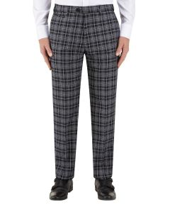 Kiefer Suit Tailored Trouser Black / Grey Check