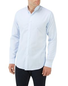 Blue Stripe Pinpoint Casual Shirt