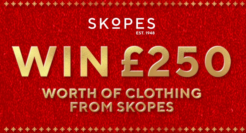 Win £250 worth of clothing from Skopes