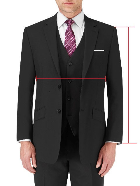 Regular Fit Suit Jackets / Blazers (front)