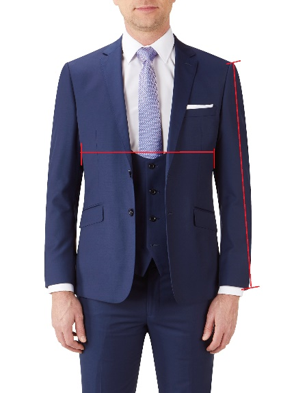 Slim Fit Suit Jackets / Blazers (front)